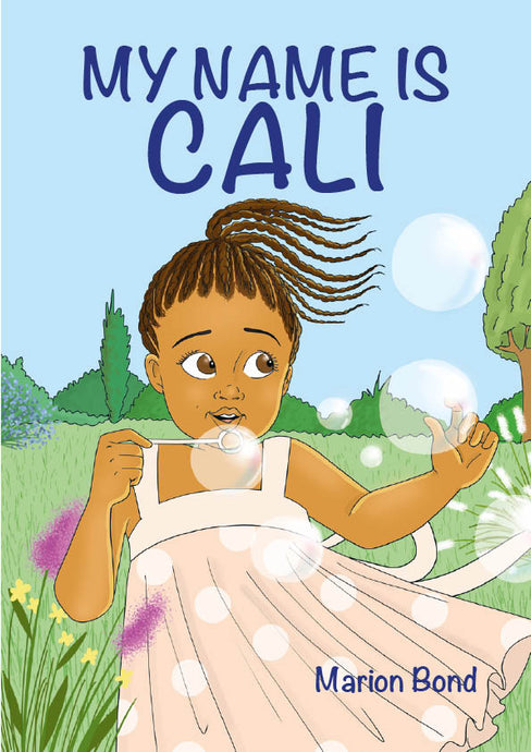 My Name Is Cali - Books Color The World