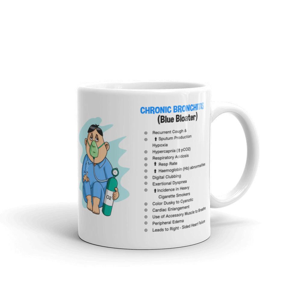 Chronic Obstructive Pulmonary Disease (COPD) Mug - White