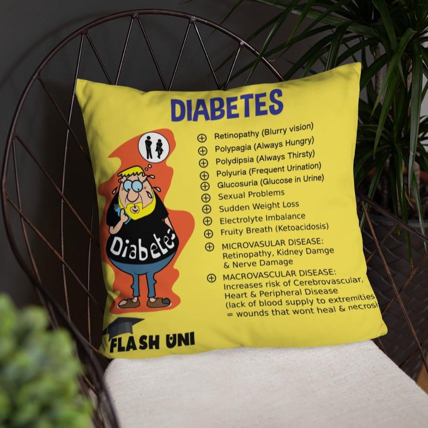 Diabetes Pillow
