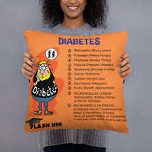 Load image into Gallery viewer, Diabetes Pillow