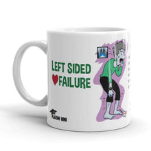Load image into Gallery viewer, Left Sided Heart Failure - Mug - White
