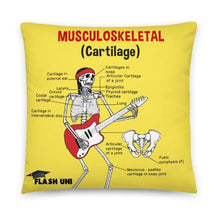 Load image into Gallery viewer, Skeletal and Musculoskeletal Pillow - Yellow