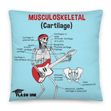 Load image into Gallery viewer, Skeletal and Musculoskeletal Pillow - Blue