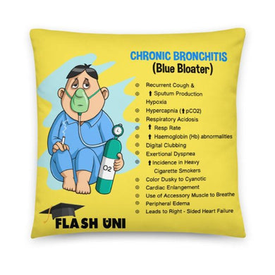 COPD - bronchitis and empysema pillow