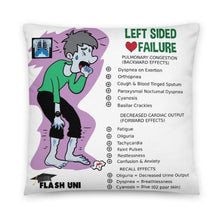Load image into Gallery viewer, Left and Right Sided Heart Failure - Pillow - White