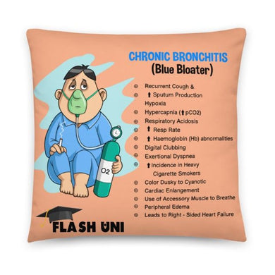 COPD Bronchitis and Empysema pillow for students