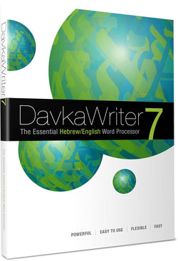 DavkaWriter 7 -- for Windows