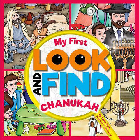 My First Look and Find - Chanukah