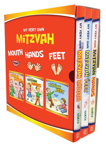 My Mitzvah Board Book Set