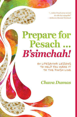 Prepare for Pesach ... B'simchah!