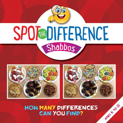 Spot the Difference - Shabbos