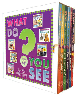 What Do You See? 6-vol. Slipcased Yom Tov Collection