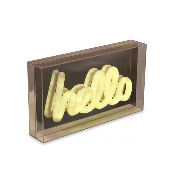 Light box HELLO - Sozon