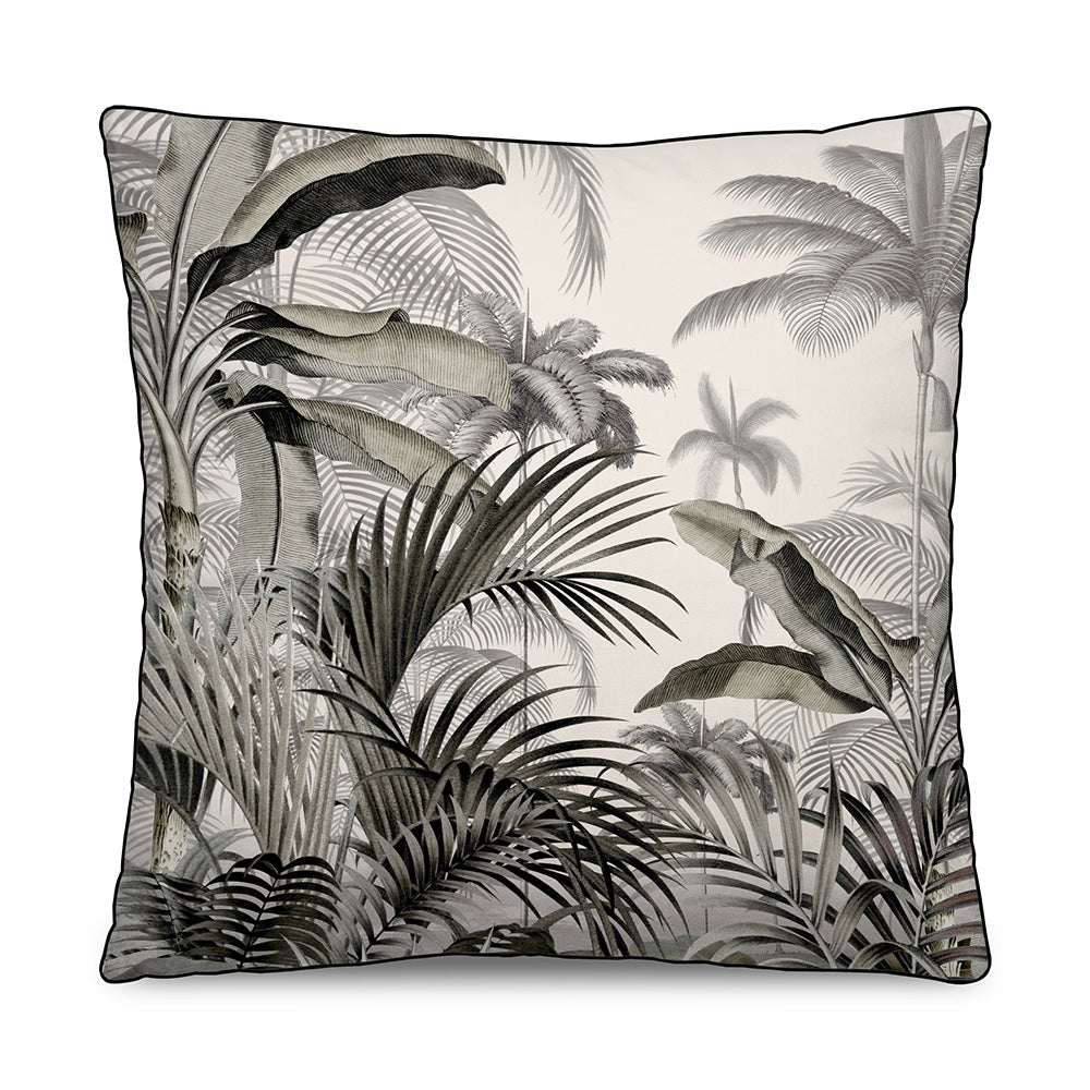 Coussin velours BOTANICAL RETRO 45x45 - Sozon