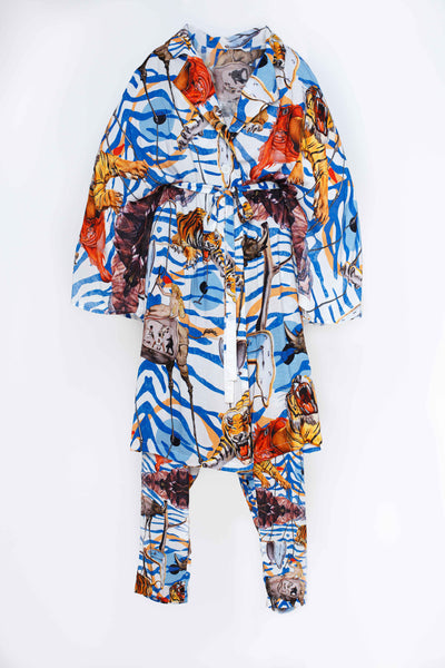 Claudia Jacket - Tiger Pattern