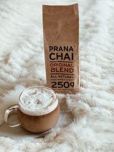 Homemade Dirty Chai (with Prana Chai)