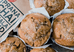 Prana Chai Apple Muffins Recipe
