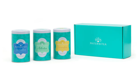 Trimester One Pack by MaterniTea (Pyramid Tea Bags)