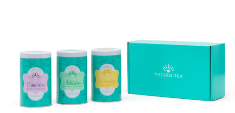Trimester Three Pack by MaterniTea (Pyramid Tea Bags)