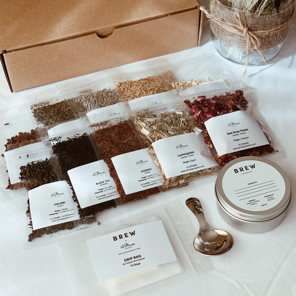 DIY Tea & Botanical Blending Box