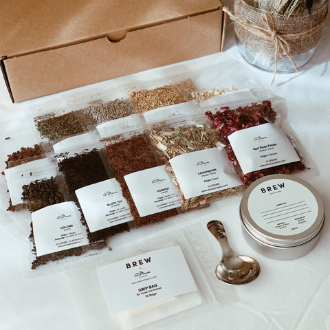 DIY Tea & Botanical Blending Box (Expected re-stock 1 October 2020)