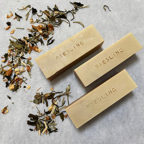 100% Natural Handmade Tea Soap - Riesling Tea
