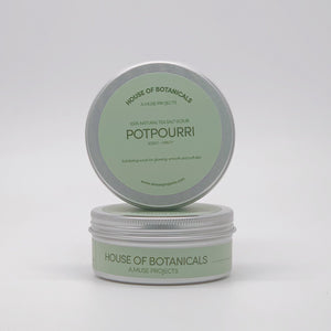 100% Natural Tea Salt Scrub - Potpourri