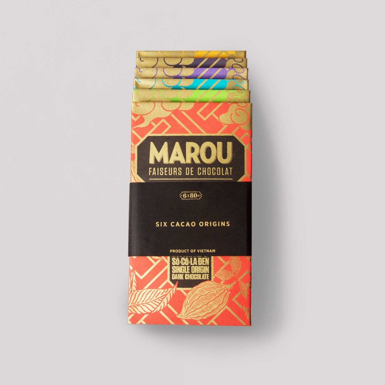 [Tea Pairing] Marou Chocolate  Bundle Pack - SINGLE ORIGIN