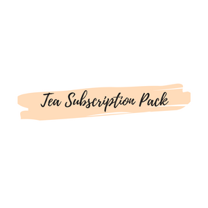 Tea Subscription Pack (Loose leaf teas)