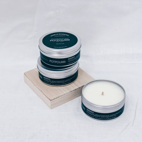 100% Natural Soy Wax Candle - Potpourri