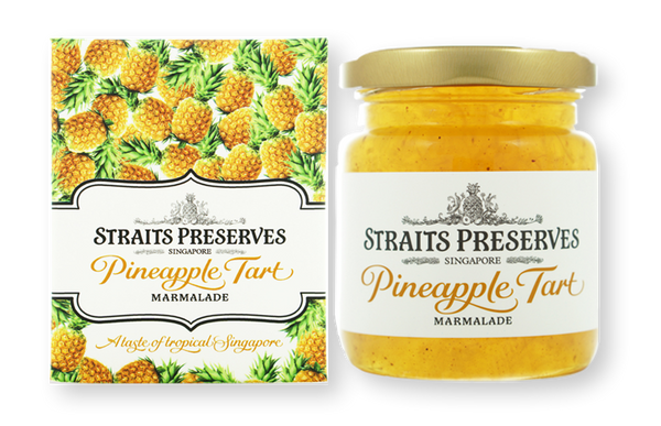 [Tea Pairing] Pineapple Tart Marmalade + Pina Colada Tea (Herbal)