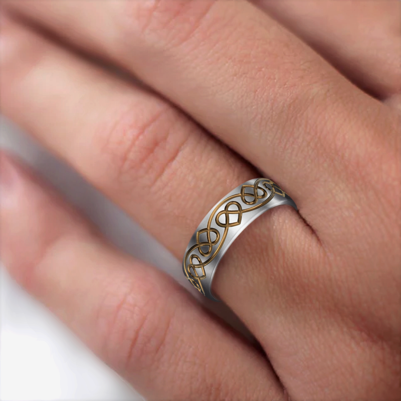 Celtic Heart Ring