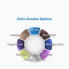 Color Anodize Options