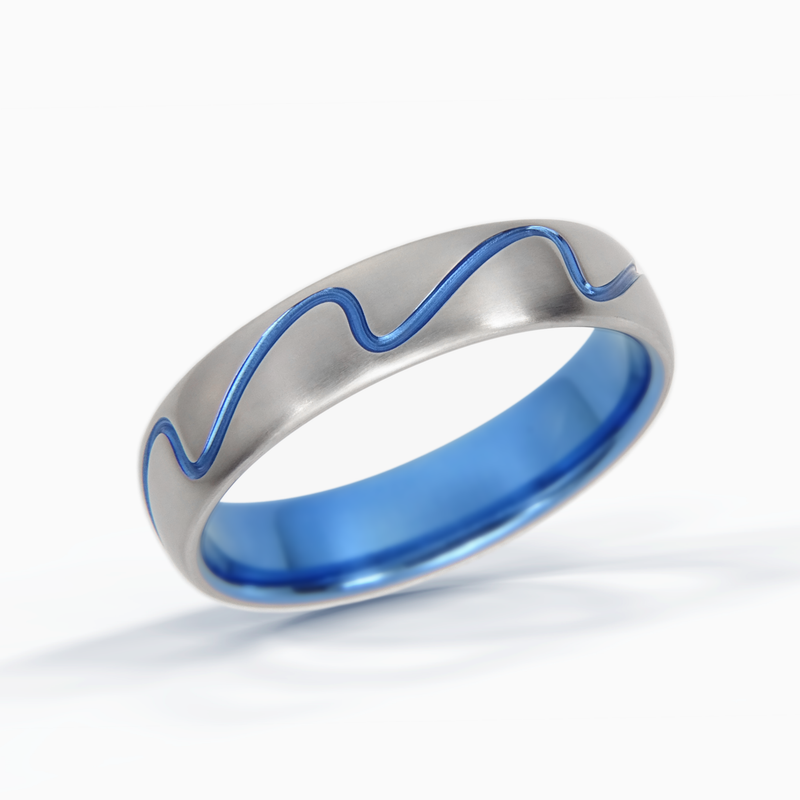 Surf Wave Ring