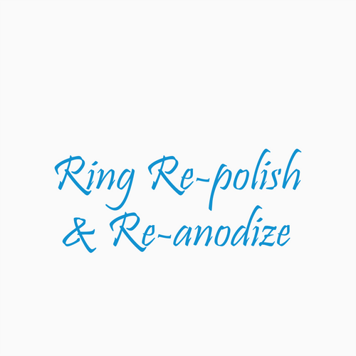 Re-polish & Re-anodize your Ring