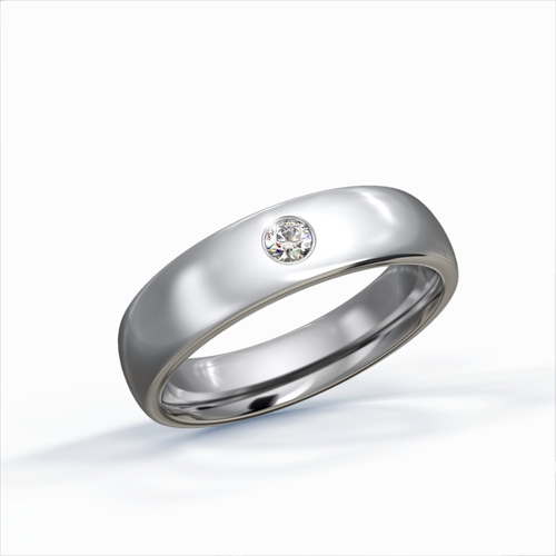 Diamond Ring 2mm Round