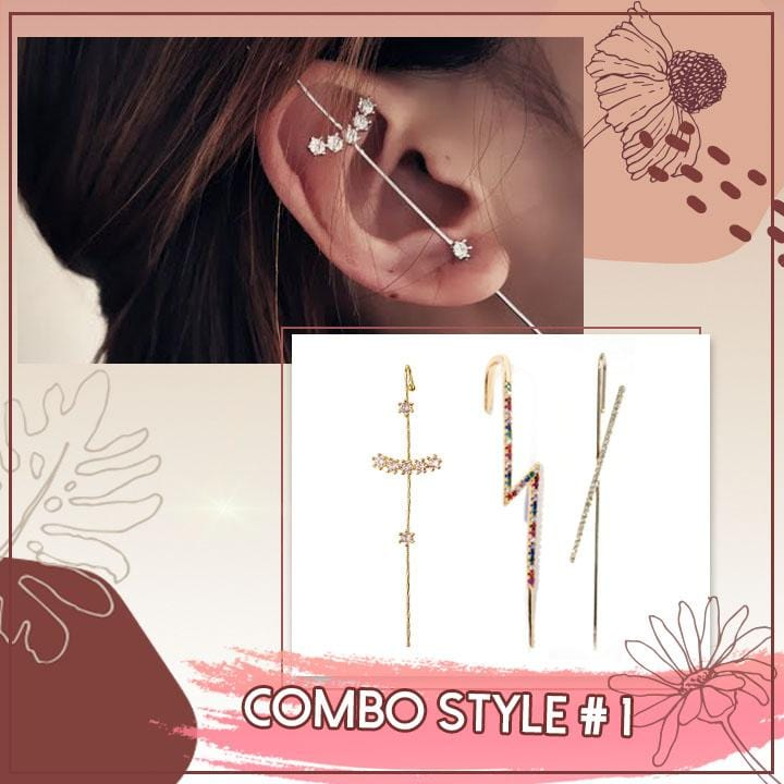Ear Cartilage Pierceless Earrings