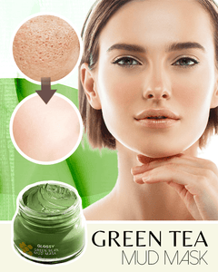 Glossy Green Bean Mud Mask