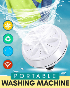 Portable Ultrasonic Washer