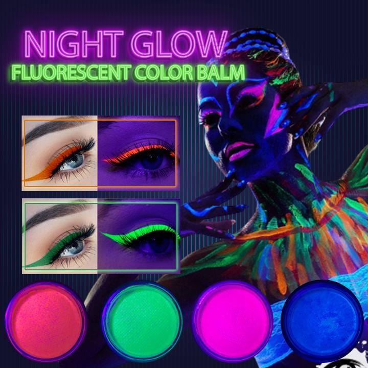 Night Glow Fluorescent Color Balm