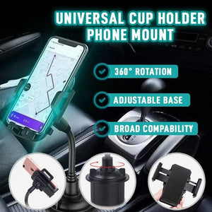 Flexible Car Cup Phone Holder