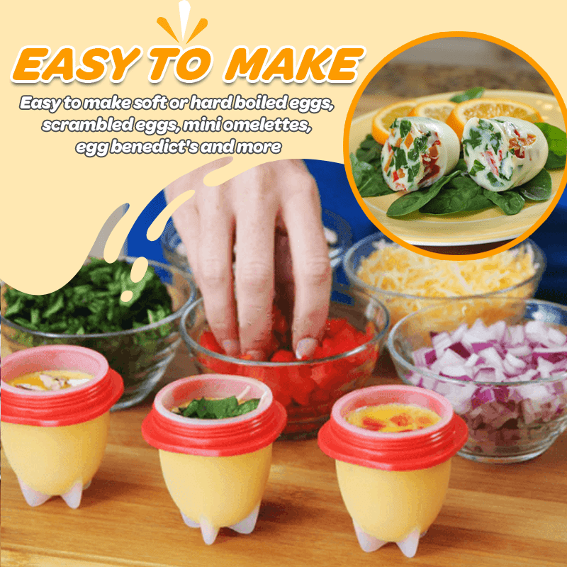 EggCiting™ Shell Free Egg Maker