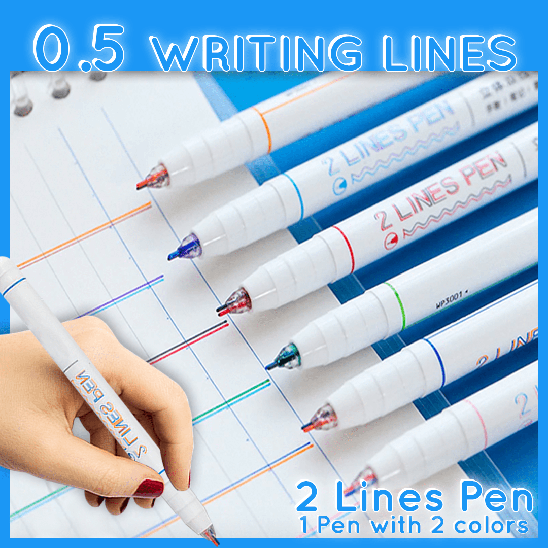 Double Lined Pens