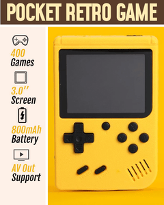 Pocket Retro Game Console (400 Games Included)