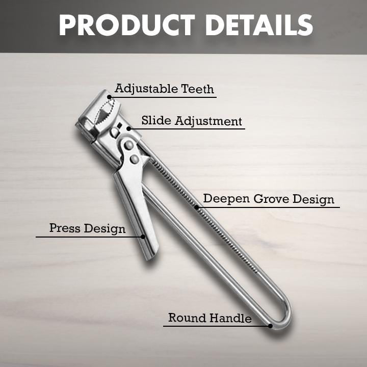 Telescopic Stainless Steel Can Opener