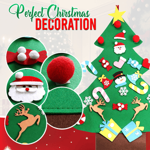 D.I.Y. Felt Christmas Tree Deco