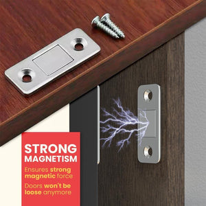 Ultra-thin Invisible Magnetic Door Closers