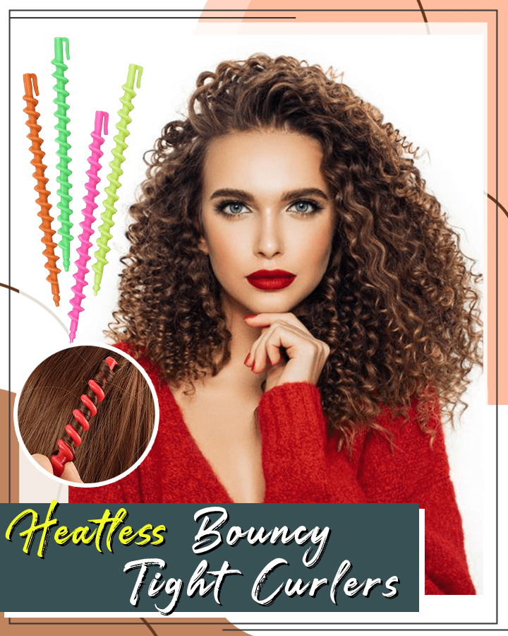Heatless Bouncy Tight Curlers