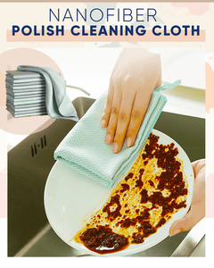 Nanofiber Polish Cleaning Cloth