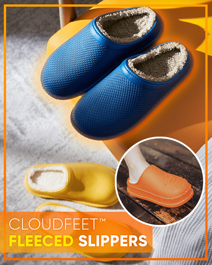 CloudFeet™ Fleeced Slippers